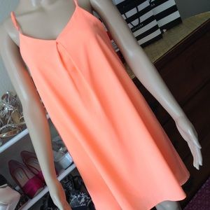 Neon orange loose fitted with back detail